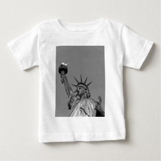 Black & White Statue of Liberty New York Baby T-Shirt