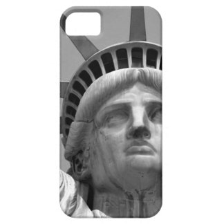 Black & White Statue of Liberty New York iPhone 5 Covers
