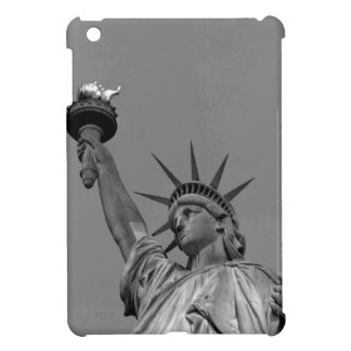 Black & White Statue of Liberty New York iPad Mini Case
