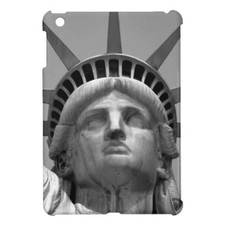 Black & White Statue of Liberty New York iPad Mini Cases