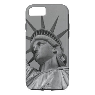 Black & White Statue of Liberty New York iPhone 8/7 Case