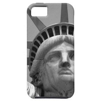 Black & White Statue of Liberty New York iPhone SE/5/5s Case