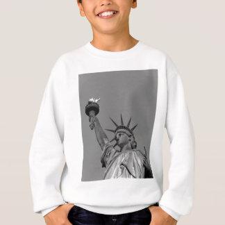 Black & White Statue of Liberty New York Sweatshirt