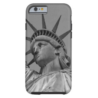 Black & White Statue of Liberty New York Tough iPhone 6 Case