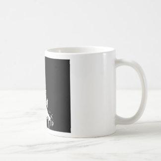 Black & White Statue of Liberty Silhouette Classic White Coffee Mug