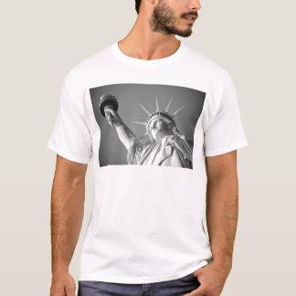 Black White Statue of Liberty T-Shirt