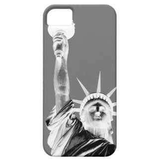 Black & White Statueof Liberty New York City iPhone SE/5/5s Case