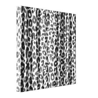 Black White Stripes Animal Print Fur Of Leopard