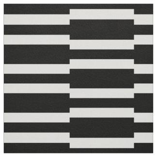 black white stripes fabric