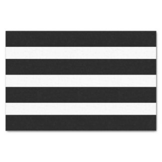 Black & White Stripes Geometric Pattern