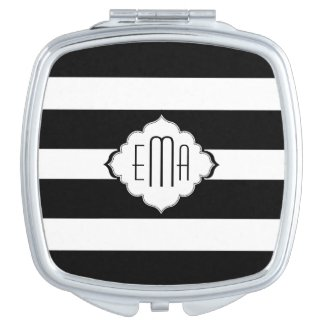 Black & White Stripes Geometric Pattern 2