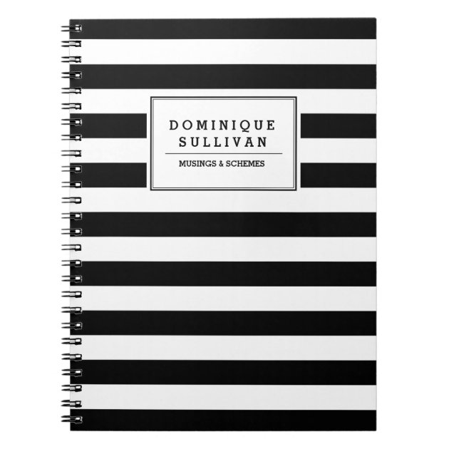 Black and White Stripes Horizontal fabric - sierra_gallagher ...