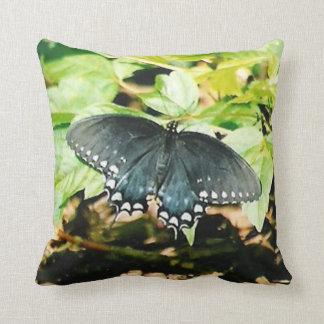 Black White Swallowtail Butterfly Photo Pillows