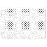 tissue, paper, swiss dots, polka, dots, black,