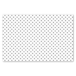 Black & White Swiss Dots | Tissue Paper