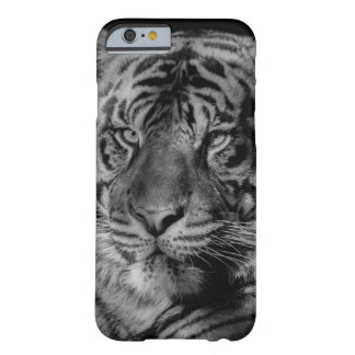 Black & White Tiger Barely There iPhone 6 Case