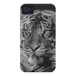 Black & White Tiger Case-Mate iPhone 4 Case