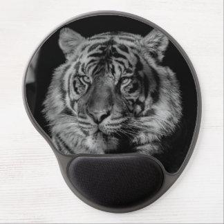 Black & White Tiger Eyes Gel Mouse Pad
