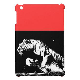 Black & White Tiger iPad Mini Cover