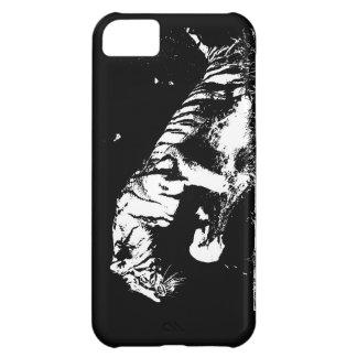 Black & White Tiger iPhone 5C Case