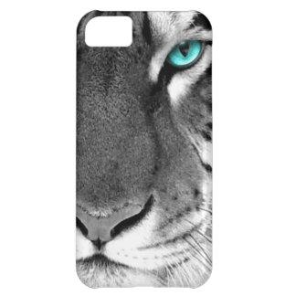 Black White Tiger iPhone 5C Cases