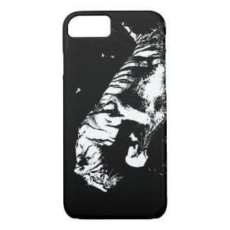 Black & White Tiger iPhone 7 Case