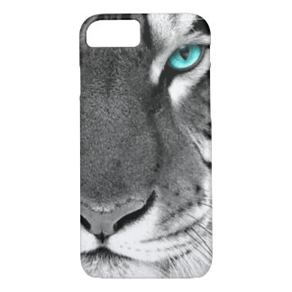 Black White Tiger iPhone 8/7 Case