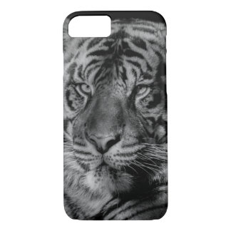 Black & White Tiger iPhone 8/7 Case