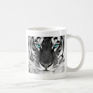 Black White Tiger Coffee Mug
