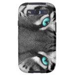 Black White Tiger Samsung Galaxy S3 Covers