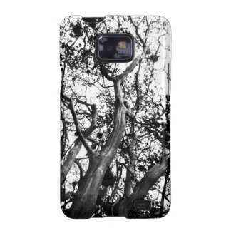 Black & White Tree Phone Case Galaxy SII Cases