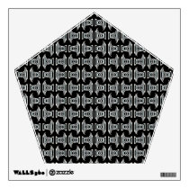 Black White Tribal Pattern Wall Sticker