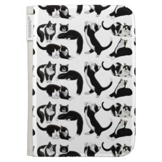 Black White Tuxedo Cats Kindle Case Cases For Kindle