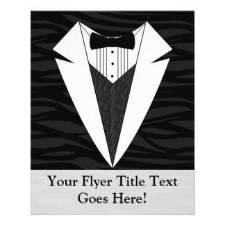 Black/White Tuxedo Flyer