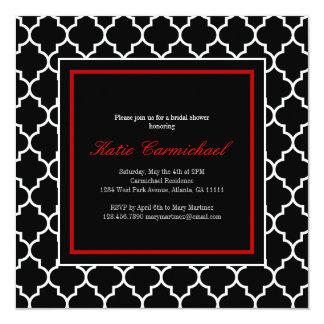 Black & White Tuxedo Invitation
