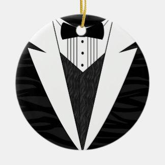 Black/White Tuxedo Ornament