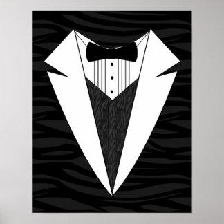 Black/White Tuxedo Poster