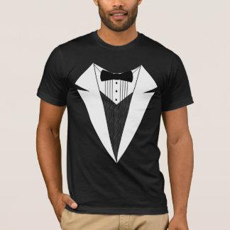 Black/White Tuxedo T-Shirt