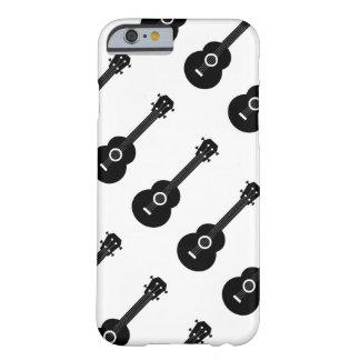 Black & White Ukulele iPhone 6 Case