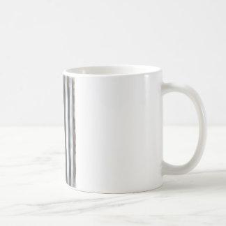 Black & White US American Flag Coffee Mug