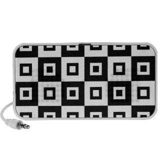 Black & White Vertigo Travelling Speaker