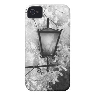 Black & White view of light fixture iPhone 4 Case