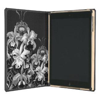 Black&White Vintage Flowers iPad Air Cover