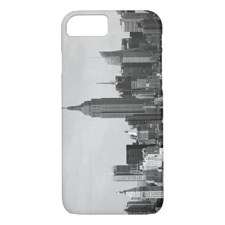 Black & White Vintage New York City iPhone 7 Case
