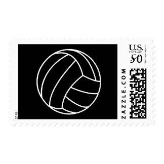 BLACK & WHITE VOLLEYBALL buzzers of sport beach fu Postage