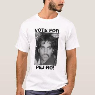 Black & White Vote for Pej-ro T-Shirt