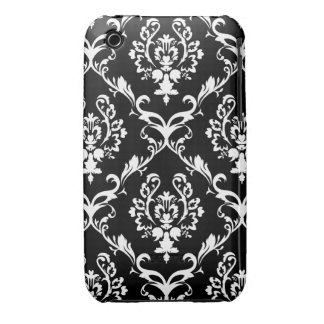 Black & White Wallpaper iPhone 3 Case