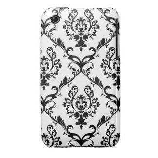 Black & White Wallpaper iPhone 3 Cases
