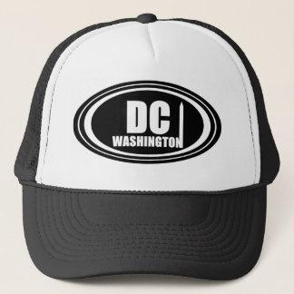 Black & White Washington DC Cap