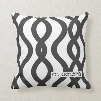 Black & White Wired Pillow